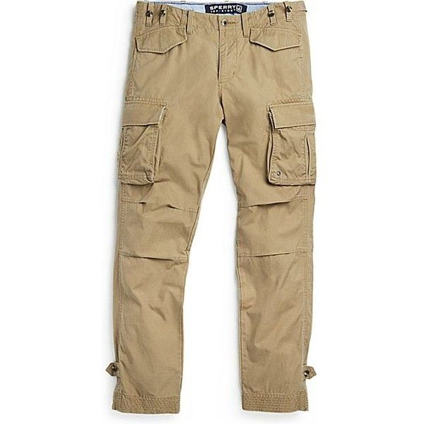 Sperry Top Sider Admiral Cargo Pant ($62) ❤ liked on