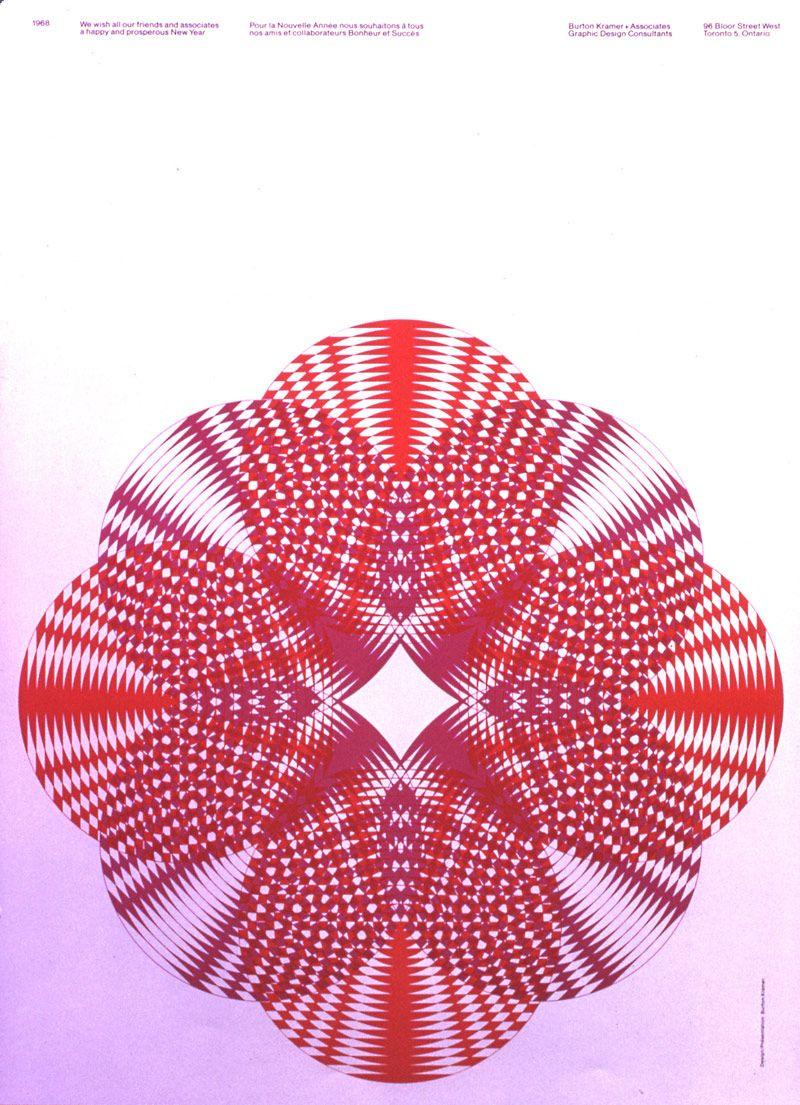 Burton Kramer, born in 1932, is a graphic designer who was