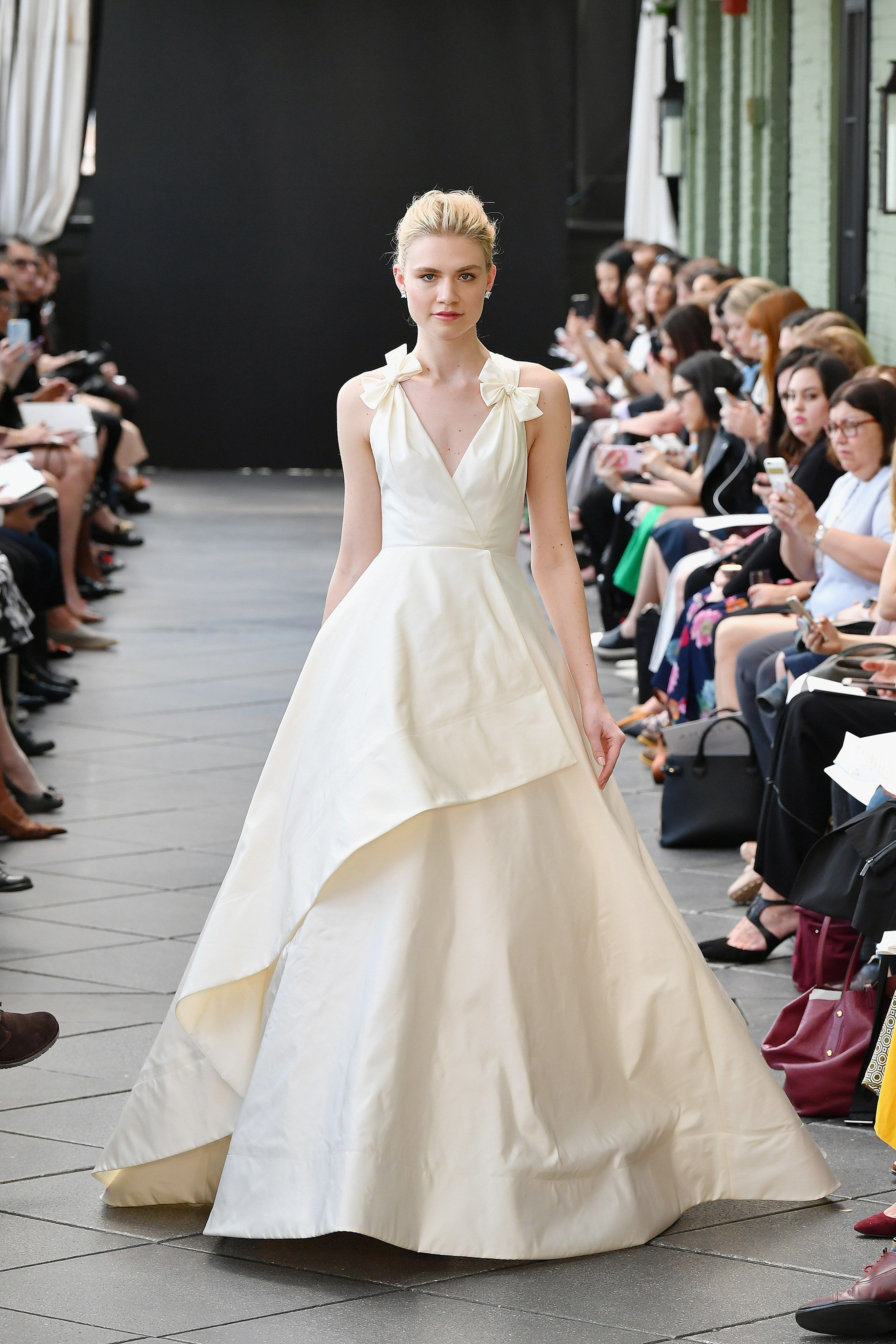Amsale Bridal Spring 2019 Fashion Show In 2018 Stunning Bridal