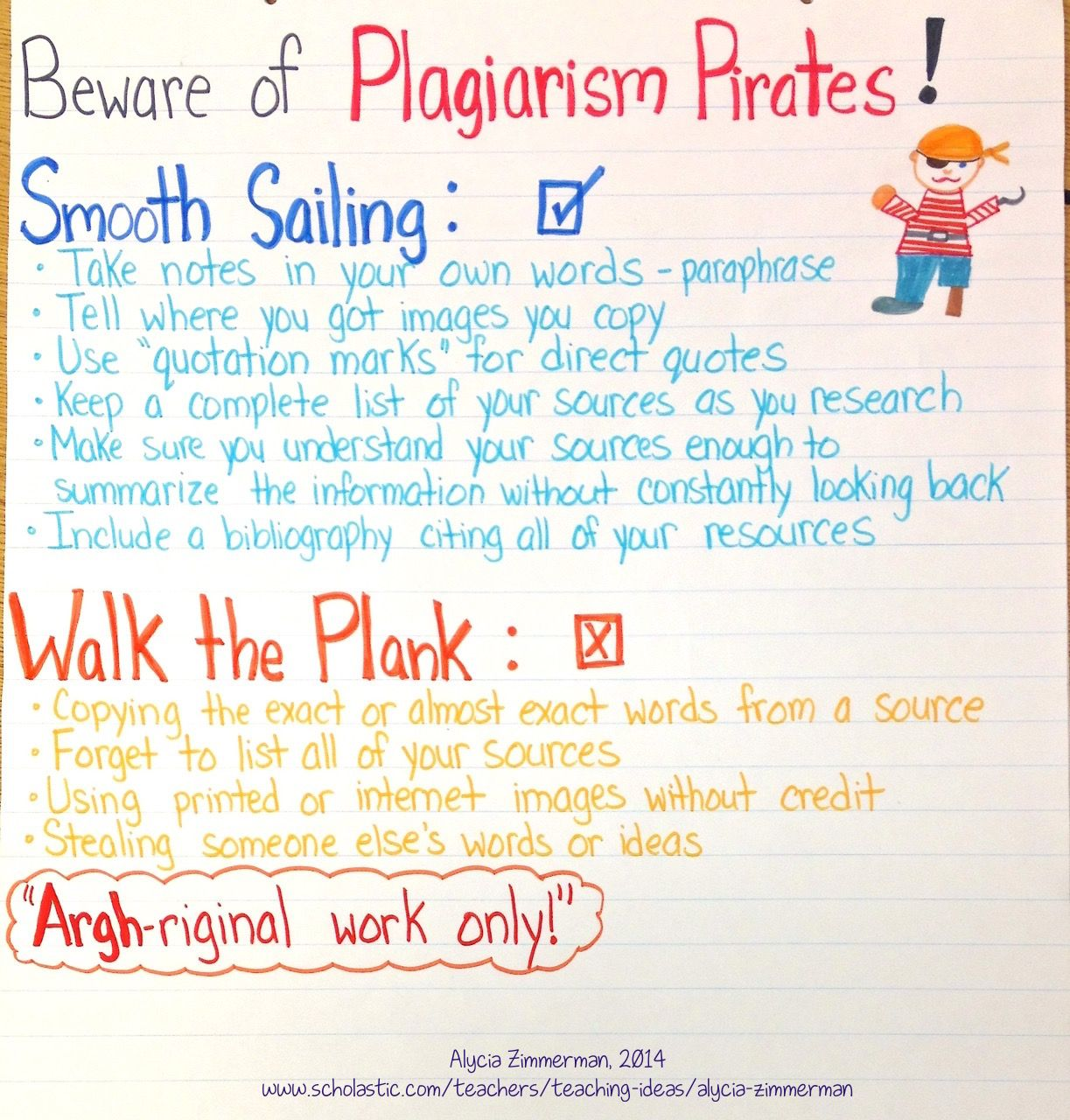 New Anchor Chart For A Year Scholastic Com Writing Classroom Lessons Paraphrase Only An Usa Citizen Understand