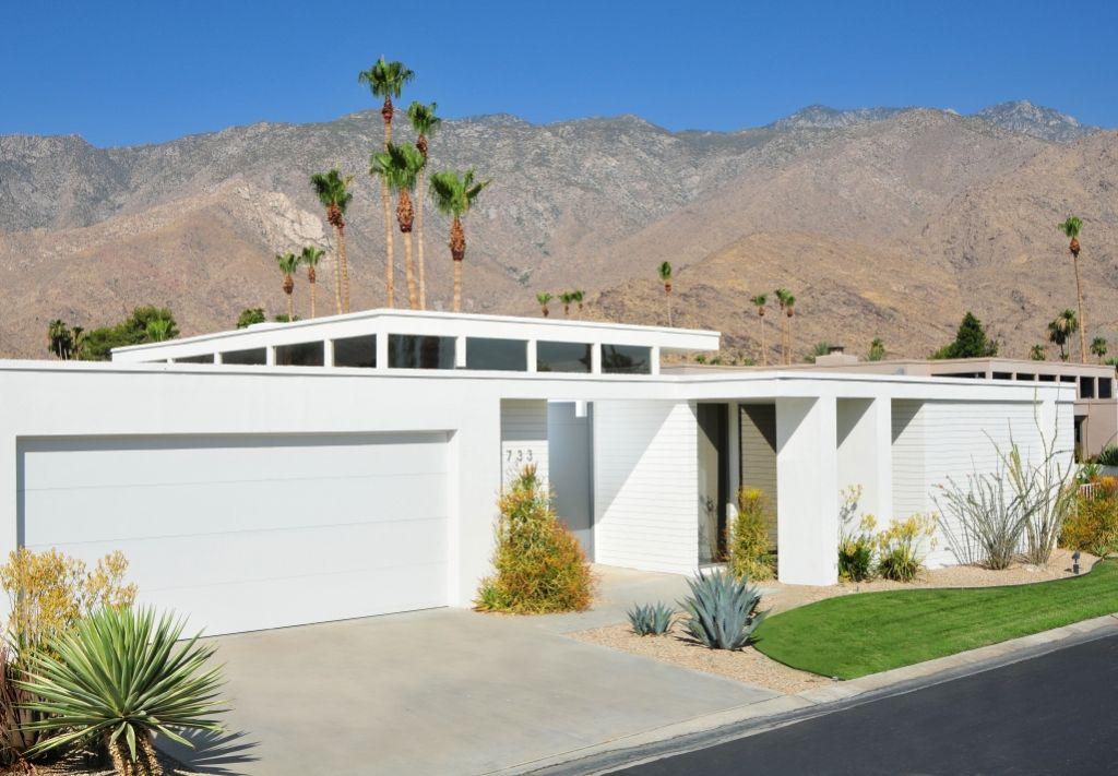 Palm Springs.... | Mid century modern exterior