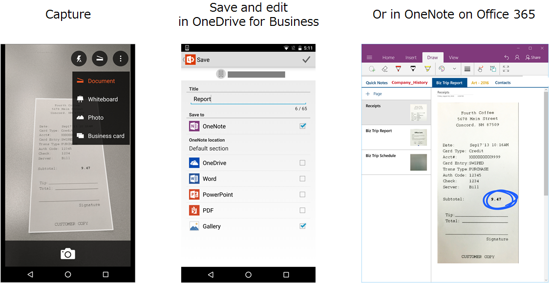 The new Universal Windows Office Lens app gives your