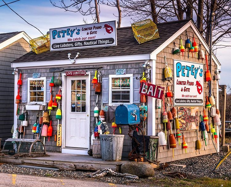 Petey S Lobster Pound A Summer Seacoast Favorite In Rye New Hampshire New Hampshire Lobster Pound Portsmouth