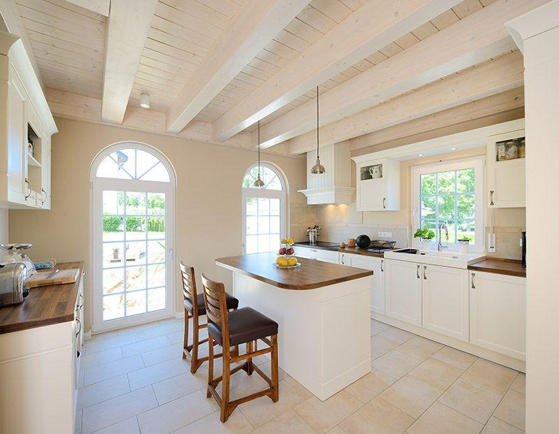 gem tlich und kommunikativ haus winter wohnk che zum wohlf hlen american style kitchen. Black Bedroom Furniture Sets. Home Design Ideas