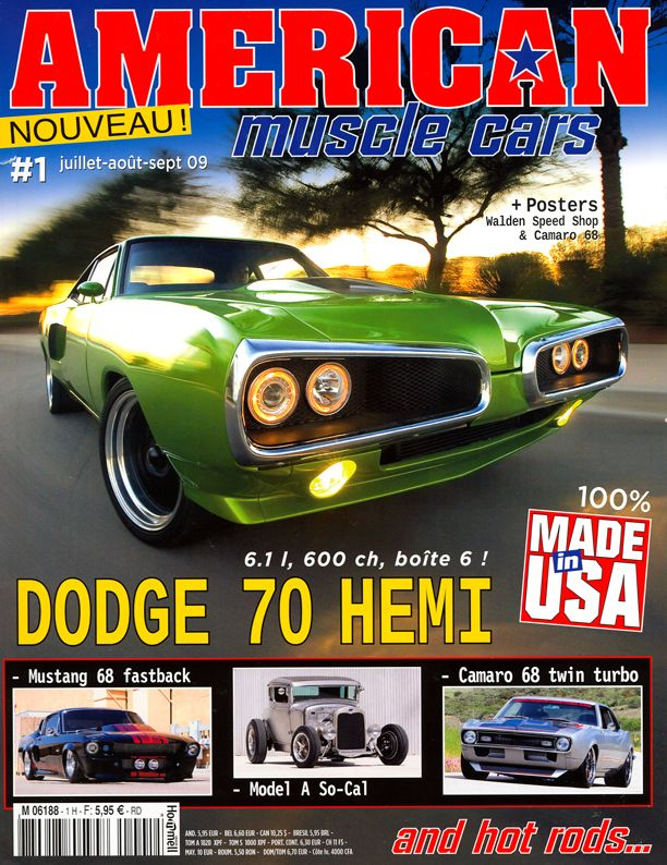 This Is Another American Muscle Car Magazine The Main Image Stands