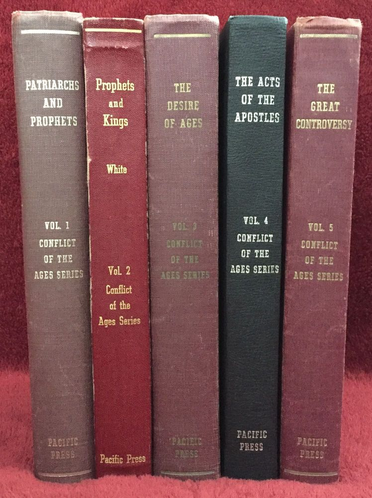 Conflict Of The Ages Hybrid 5 Books Set Ellen G White Seventh Day