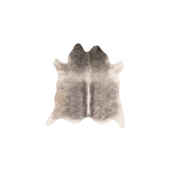 Alexander Home Rawhide Ivory Charcoal Rug 77 Via