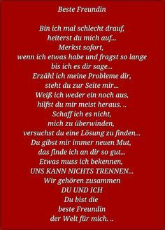 Spruch Beste Freundin An Johanna Pinterest Friends