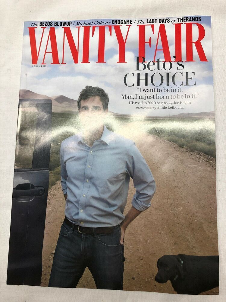 Vanity Fair April 2020.Vanity Fair Magazine April 2019 Beto O Rourke Ebay In 2019