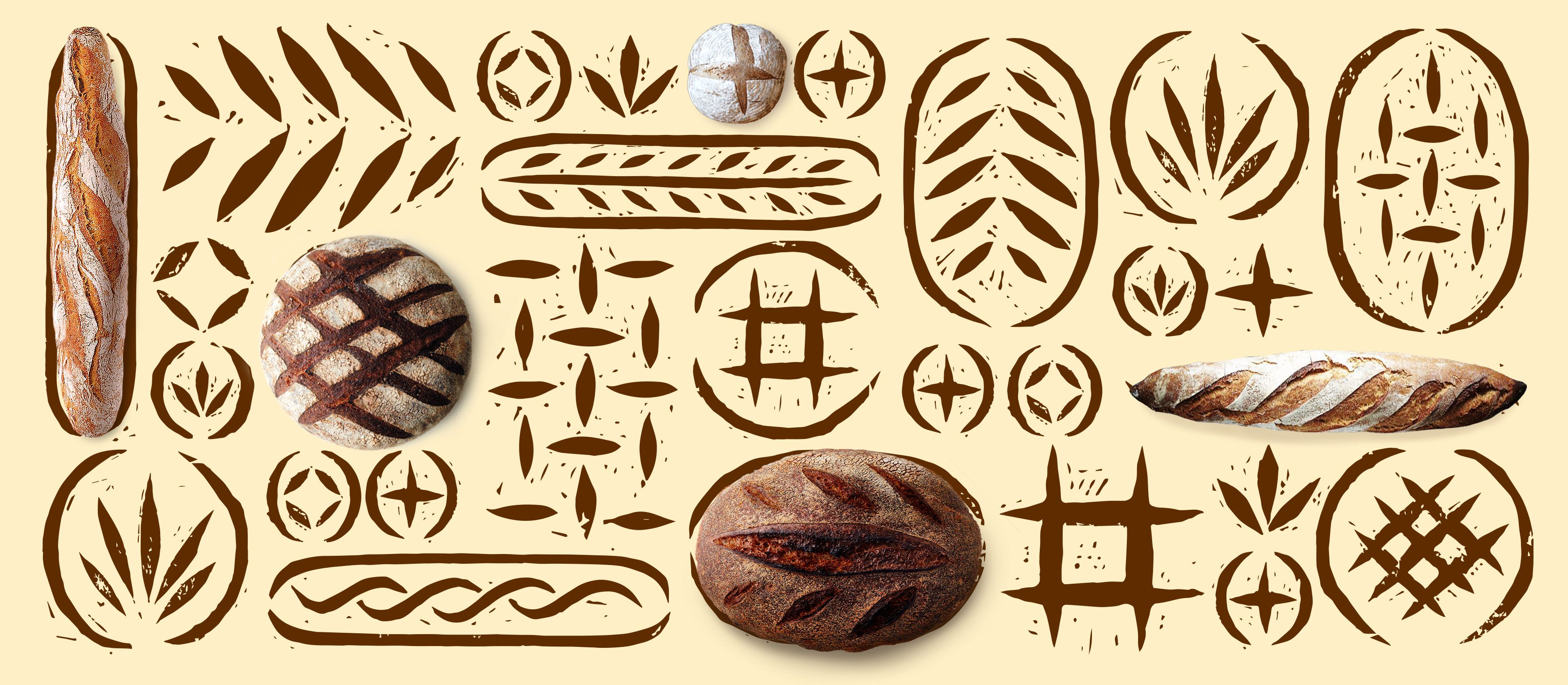 Пекарня Сурукиных Icon package, Adobe illustrator, Print
