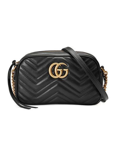 9ae858468 Gucci Bolsa De Hombro GG Marmont Pequeña - Farfetch | Item || Bag ...