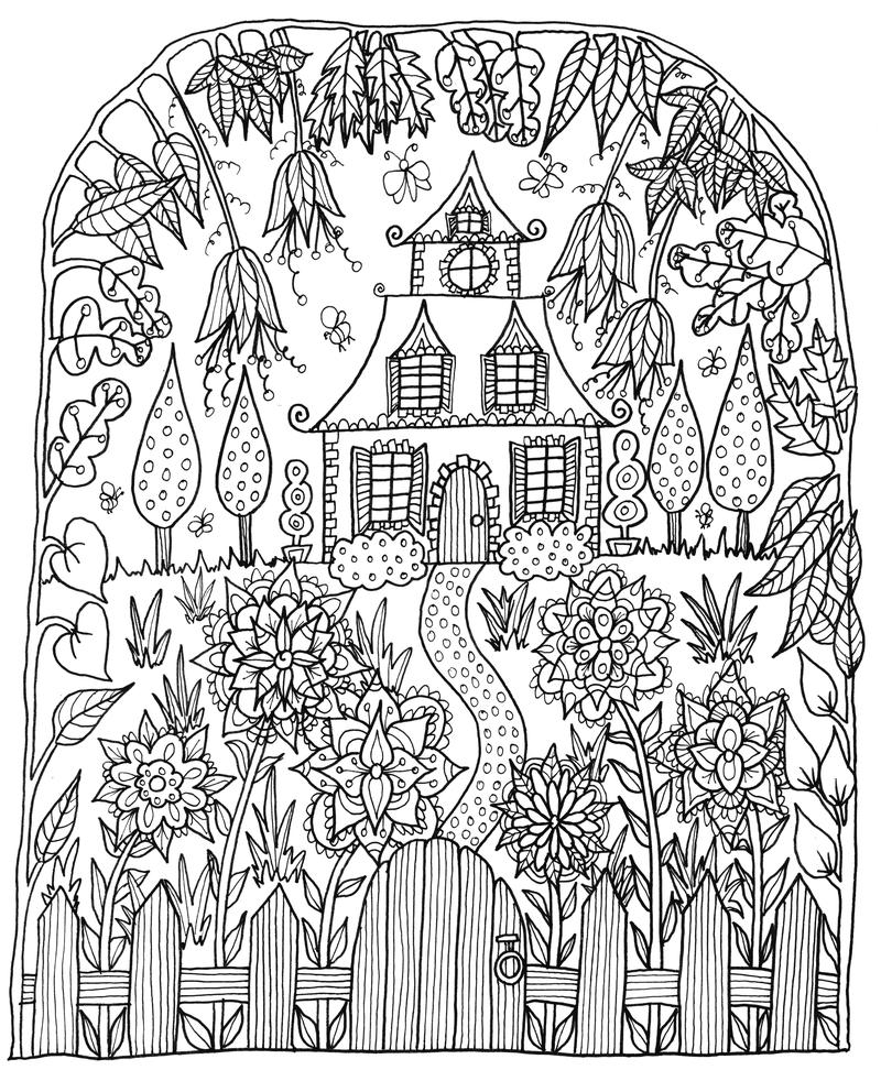≡ coloring page   Felnőtt színezők   Pinterest   Plantas y Jardín ...