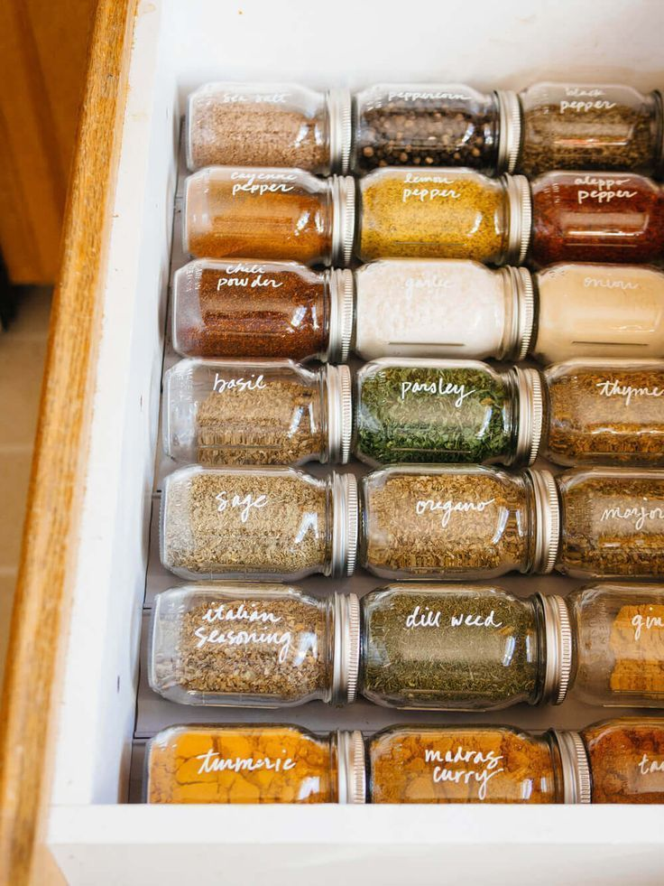 Photo of Easy organization of these spice drawers