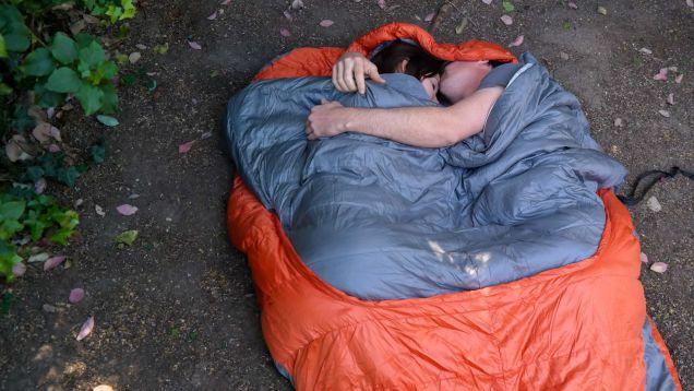 The Coziest Two Person Sleeping Bag Yet Backpacking Sleeping Bag