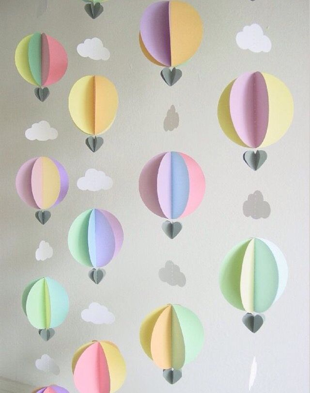 Seems easy to make Nursery ideas Pinterest Easy Craft and Origami