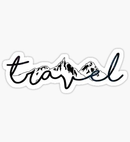 Stickers Tumblr Stickers Travel Stickers Hydroflask Stickers