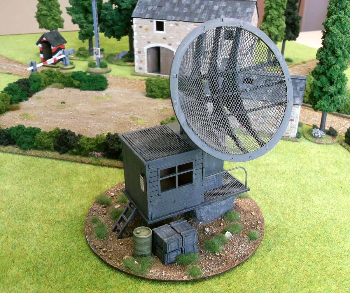 The Wargames Table: Radar Station