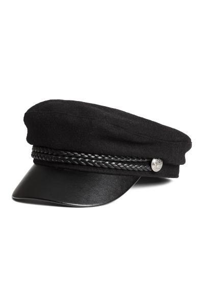 Captain s cap - Black - Ladies  6a5fb9c25795