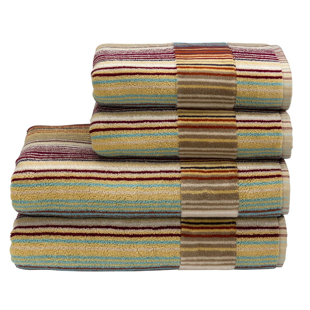 This Stunning Stripe Towel Combines The Best Of Supreme Hygro Shades To Create A Unique And Modern Design That Will Complement Any Bathroom
