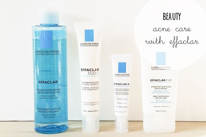 La Roche Posay Effaclar Acne Treatment is part of Acne care -