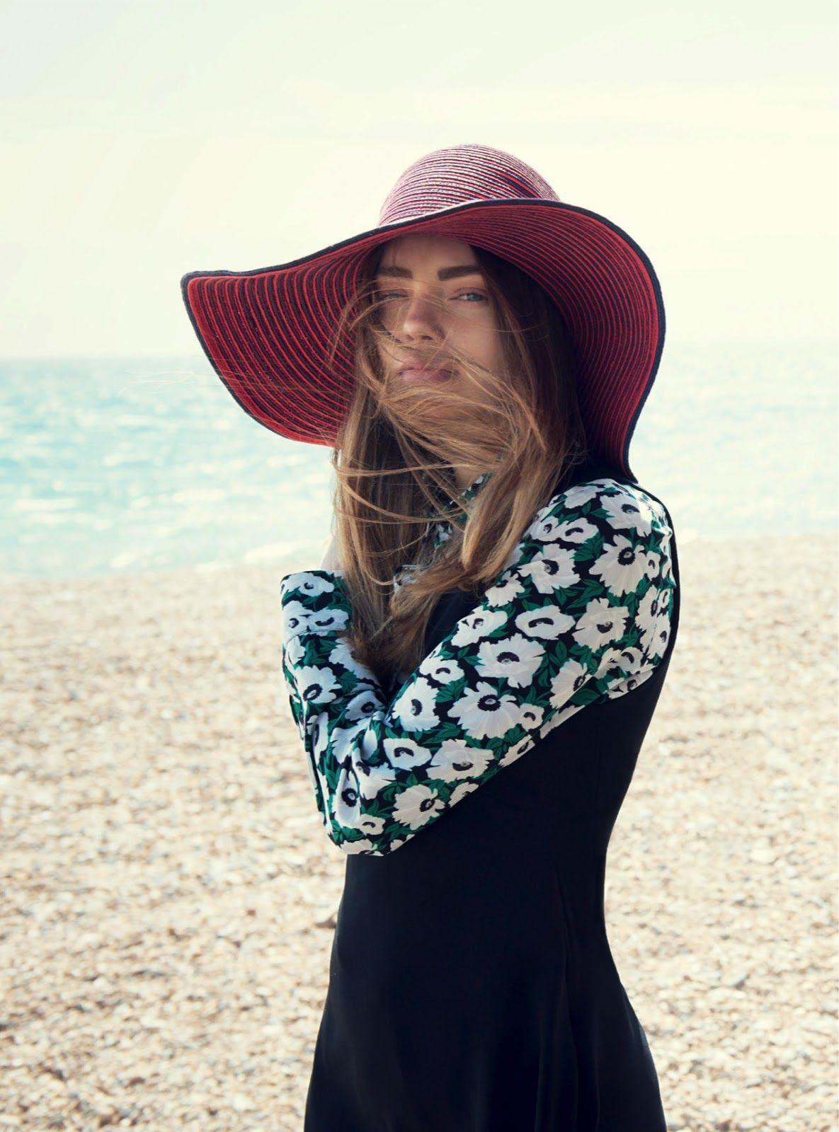 """Beyond the Sea"" Kristine Froseth for Harper's Bazaar UK January 2015"