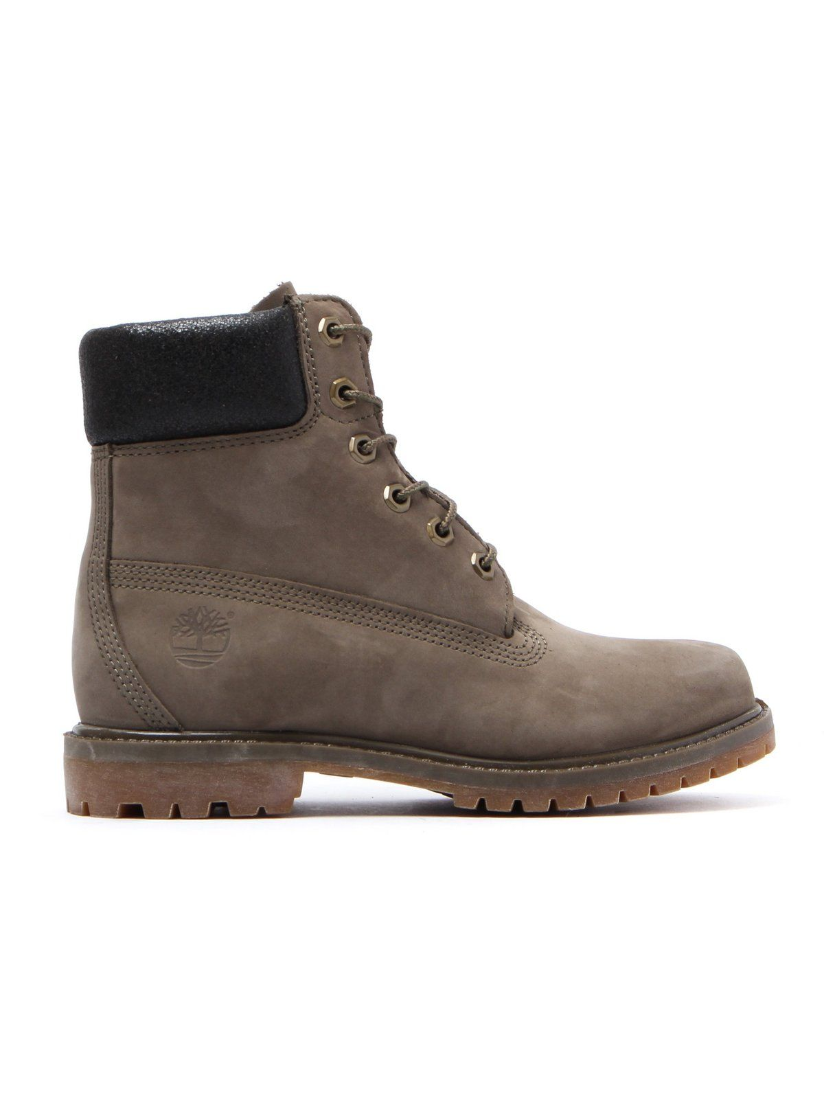 afd1ed47a926 Timberland Women s 6 Inch Premium Boots - Olive Nubuck