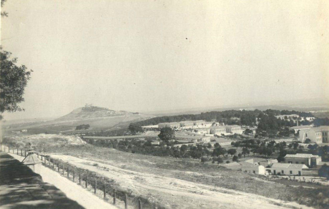 Panorama dai Giardini Pubblici nel 1906 Cagliari