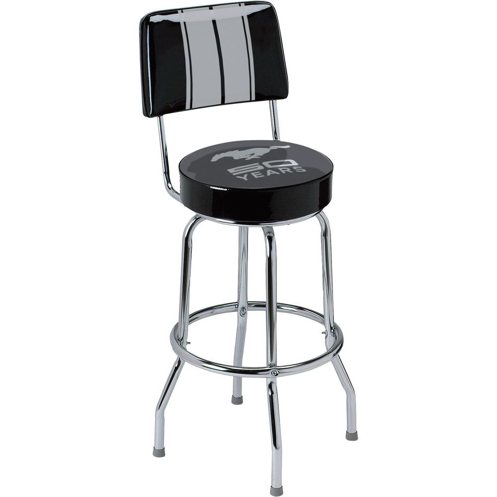 50th Anniversary Ford Mustang Bar Stool Unique