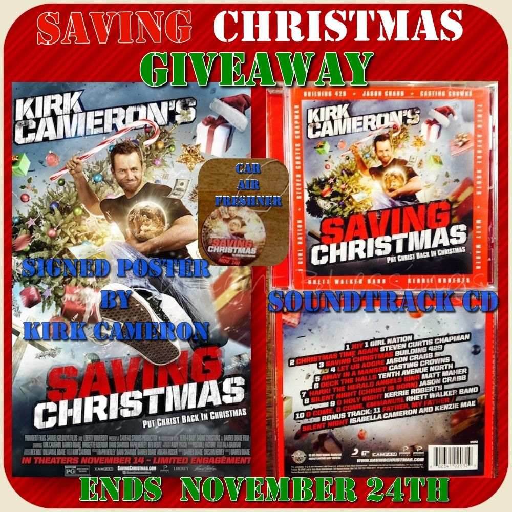Kirk Cameron\'s Saving Christmas Giveaway! | Giveaways! | Pinterest ...