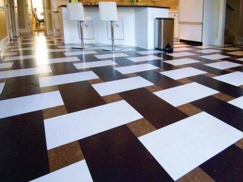 3 Color Basketweave Cork Flooring Floor Tile Design Floor Design
