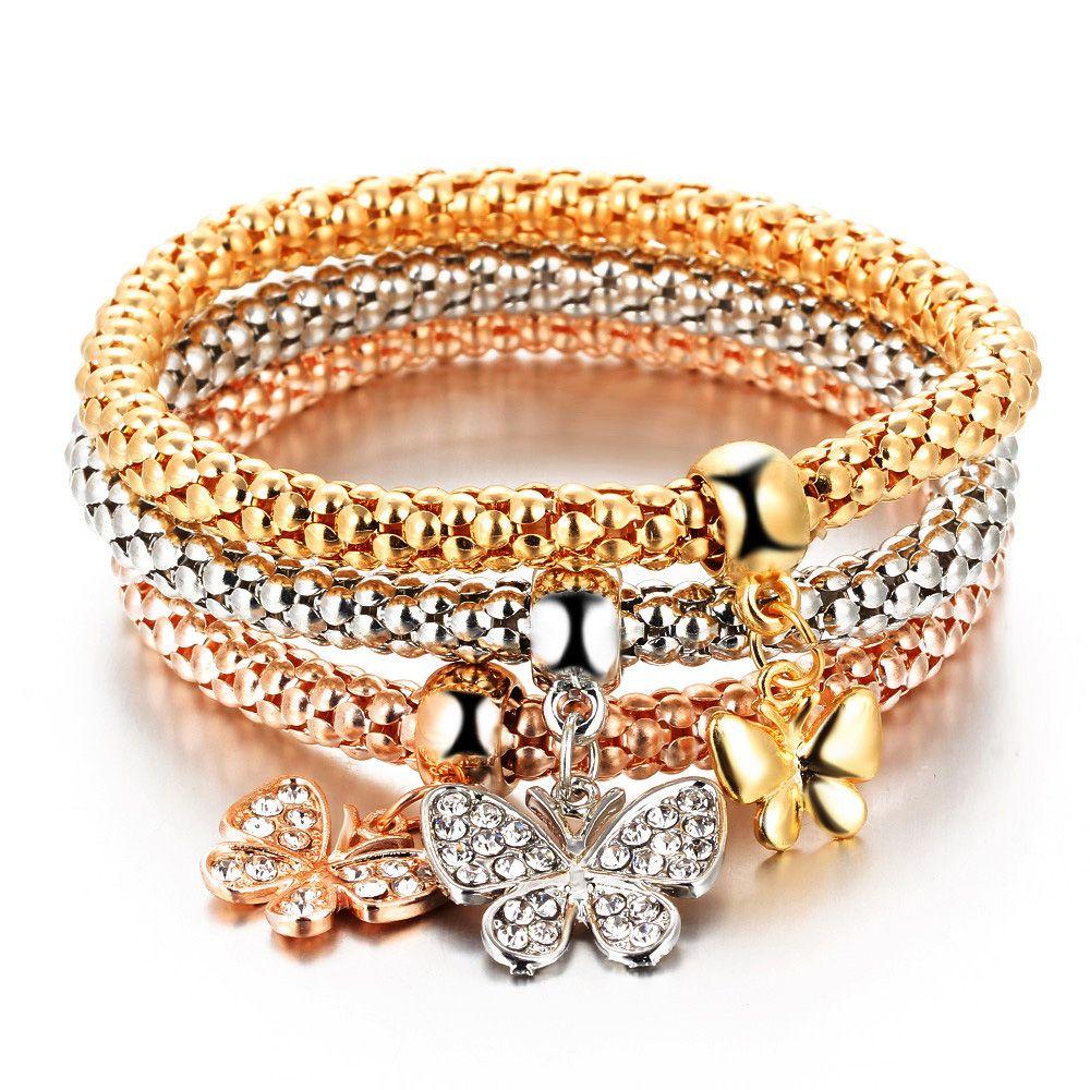 pcsset charm bracelet with multiple pendant design price