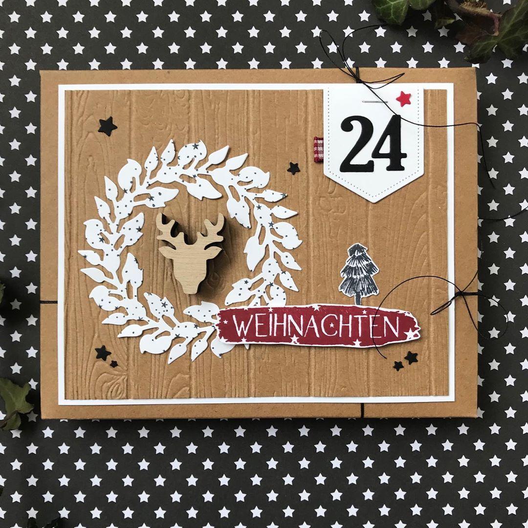 Gefallt 222 Mal 23 Kommentare Stempelfriends Nina Klepsch Ninaklepsch Auf Instagram Die Kartenbox Gefull In 2020 Weihnachtskarten Weihnachtsideen Weihnachten