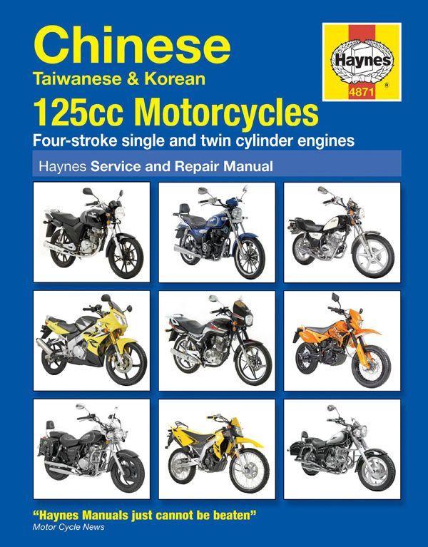 haynes motorcycle manual - 4871 - chinese taiwanese & korean