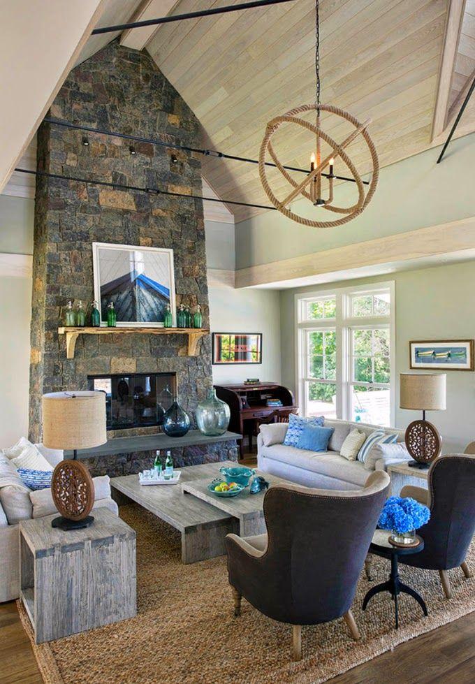 Marthas Vineyard Interior Design - House of Turquoise ...
