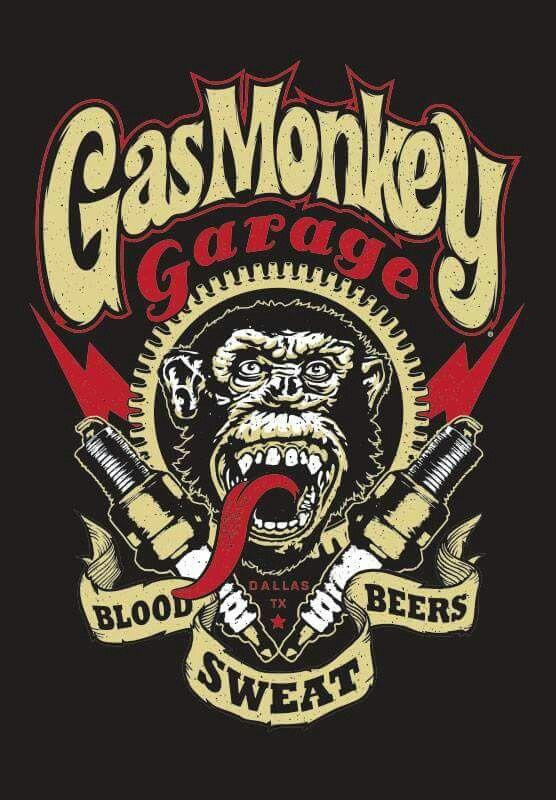 Gas monkey garage ford pinterest voitures affiches for Garage ford maurecourt 78
