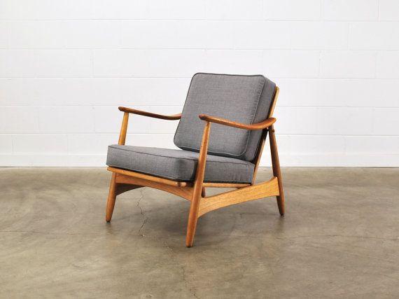 Compact Danish Modern Armchair Chair Fully Von MadsenModern Auf Etsy,  $825.00