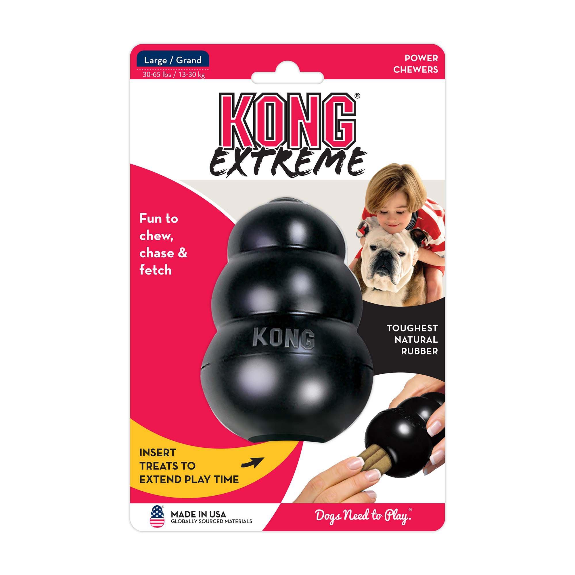 Kong Black Extreme Dog Toy Large Kong Dog Toys Dog Toys Tough
