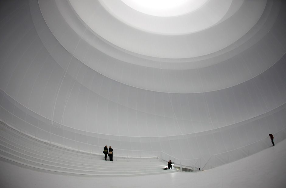 christo in oberhausen   installations   pinterest   ballon d'or, Innenarchitektur ideen