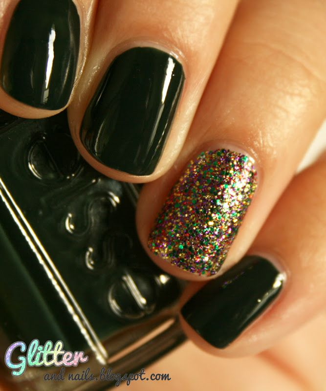 Essie Stylenomics + China Glaze Glitter All The Way | Esmalte