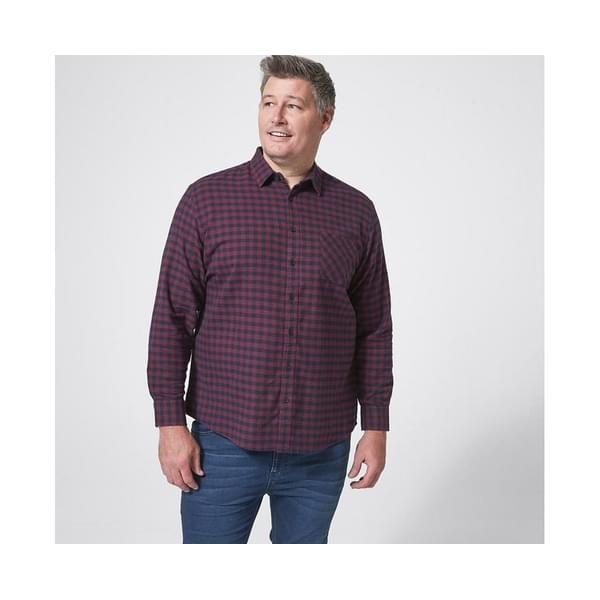 Mr Big Flannelette Shirt - Red in 2021 | Flannelette shirt ...