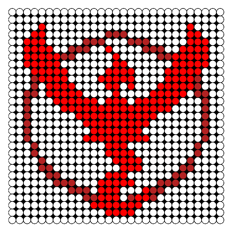Team Valor Pokemon Go Perler Bead Pattern | Star Wars Art ...