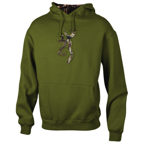Browning Men's Camo/Green Sweatshirt Back40trading.com (Gift Idea)
