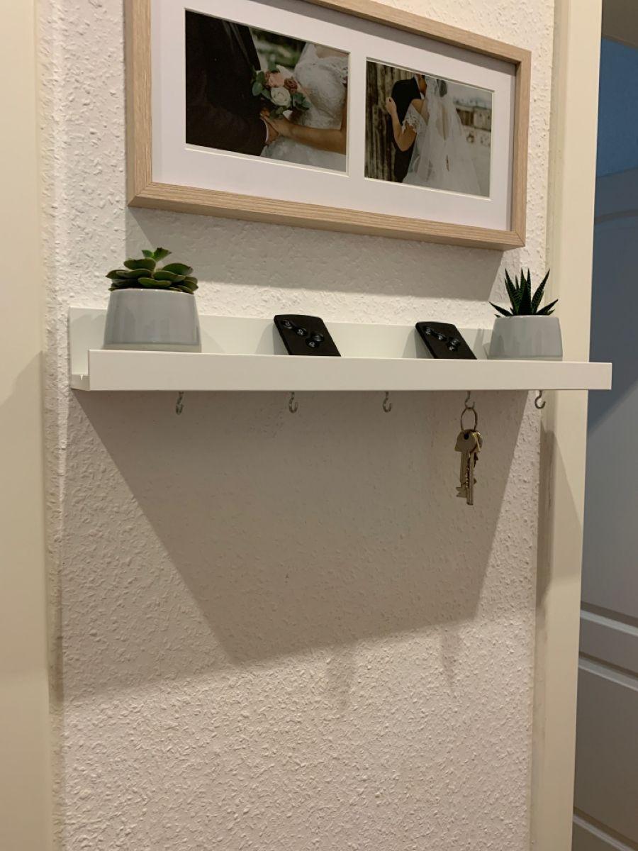 Schlusselhalterung In 2020 Bild Leiste Ikea Inspiration Wohnung Schlafzimmer Dekoration