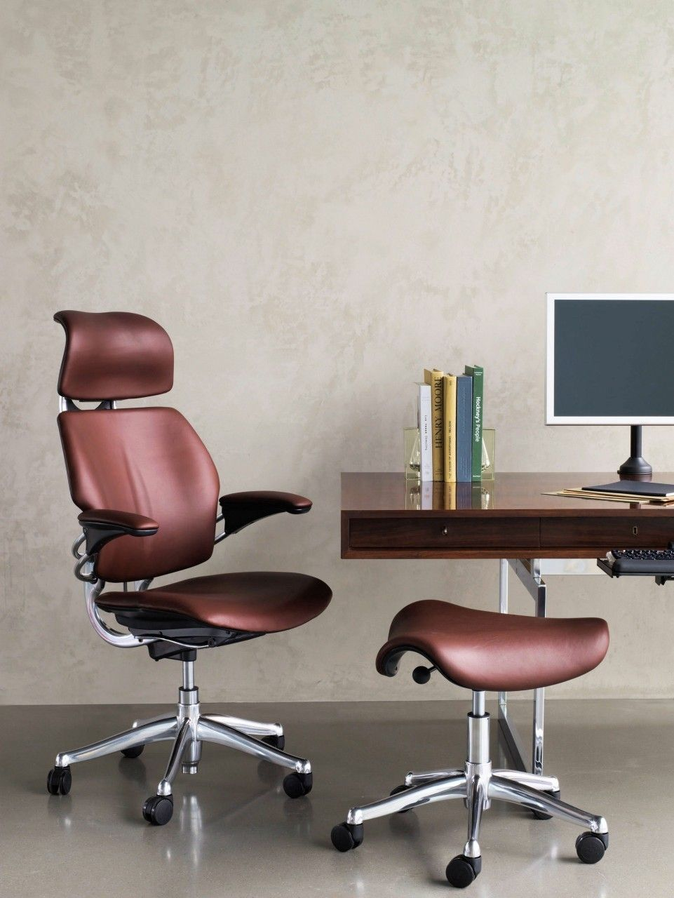 Humanscale freedom saddle best office chair ergonomic