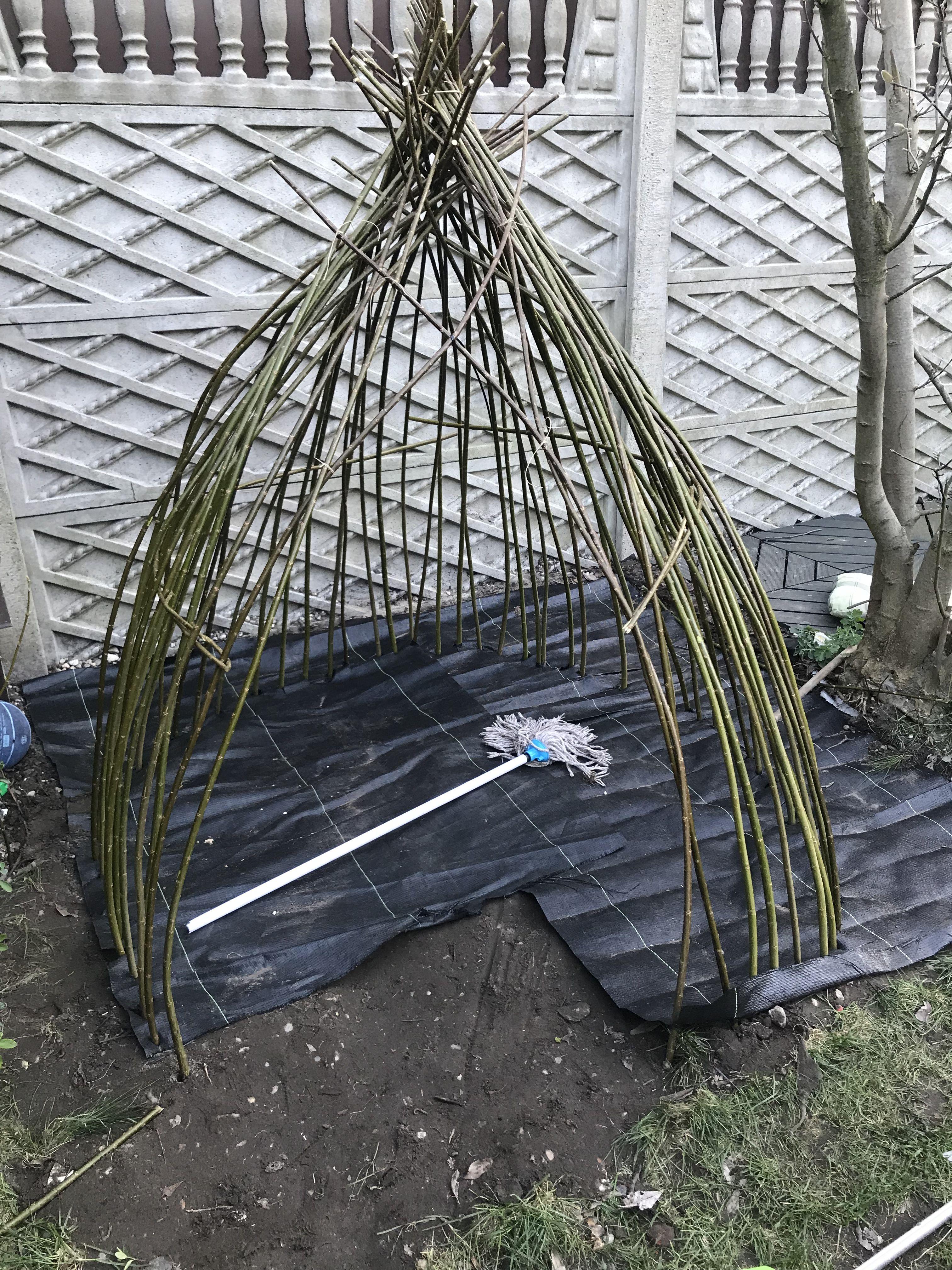 Tipi Wierzba Energetyczna Szalas Z Wierzby Iglo Domek Zielony Dla Dzieci Wierzba Willow Garden Hanging Chair Cutie