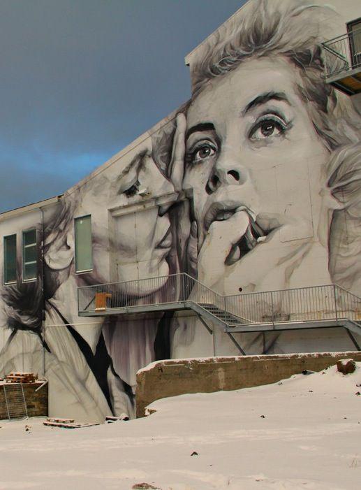 A Photo Tour of Reykjavík's Street Art