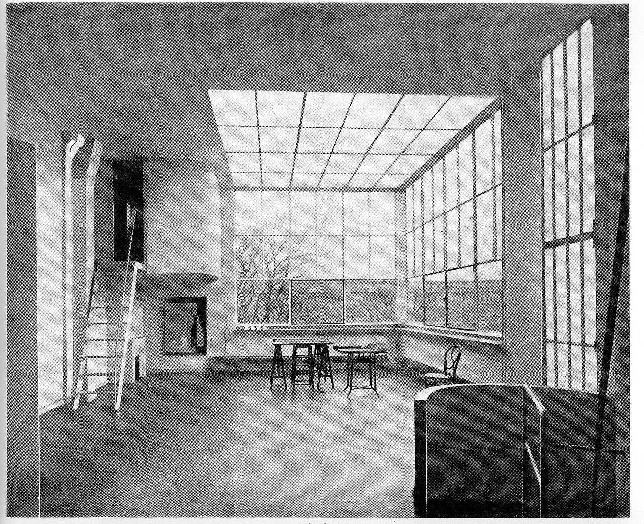 le corbusier atelier ozenfant paris 1923 architecture pinterest architecture le. Black Bedroom Furniture Sets. Home Design Ideas