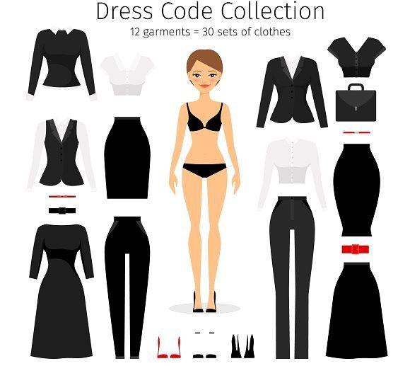 Women dress code set | Dress codes