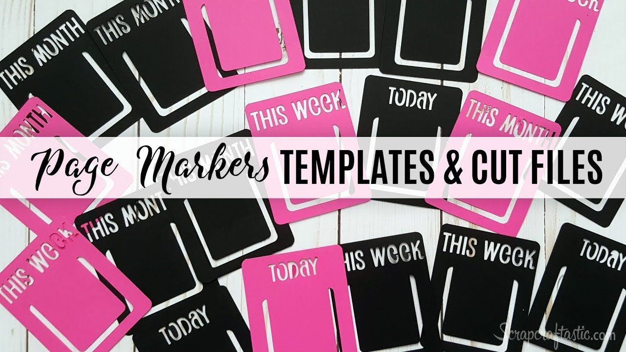 Planner Page Templates Best Traveler's Notebook And Planner Page Markers Digital Die Cut .