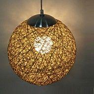 12W Anheng Lys ,  Lanterne Andre Trekk for Mini Stil Tre/ Bambus Stue / Spisestue – NOK kr. 788